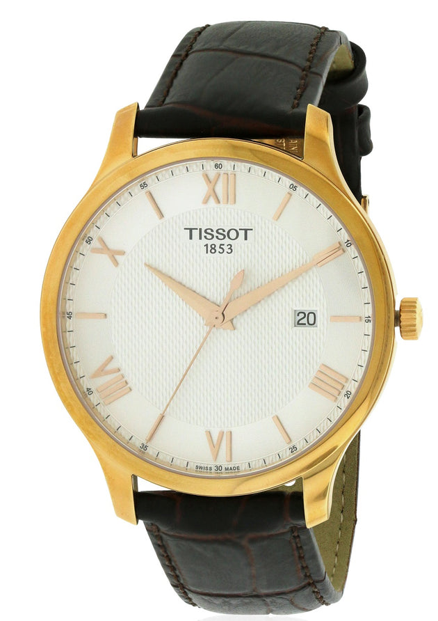 Tissot Tradition Leather Mens Watch T0636103603800