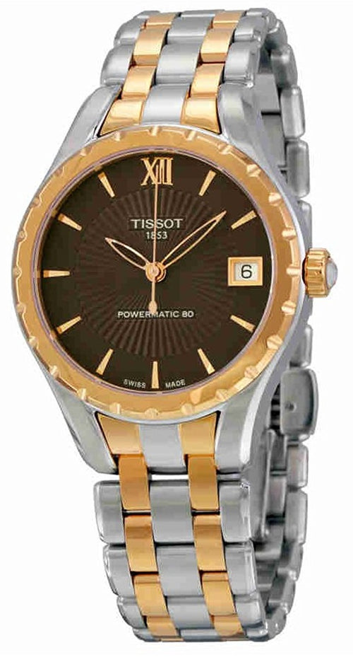 Tissot Lady 80 Automatic Two-Tone Stainless Steel Ladies Watch T0722072229800