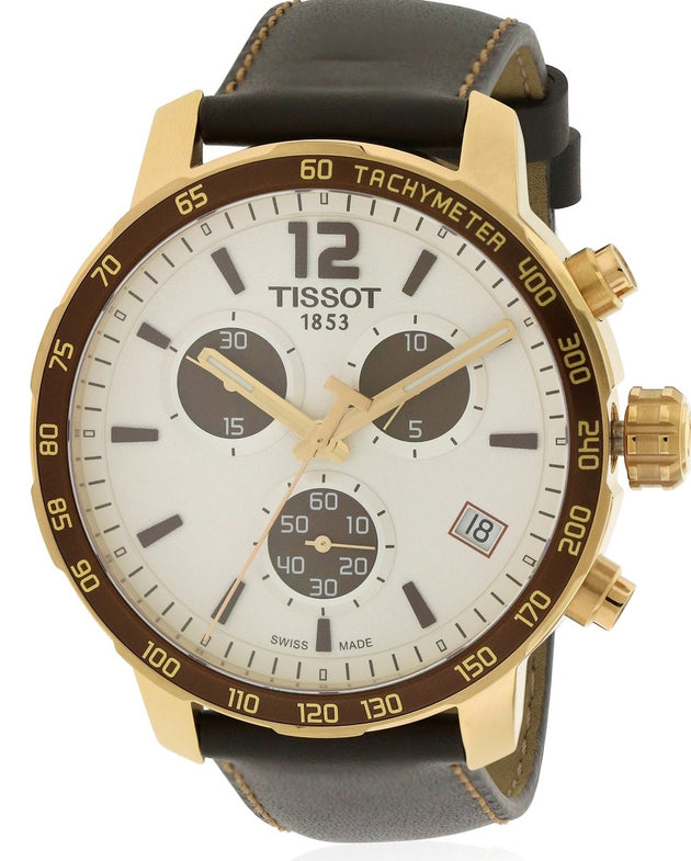 Tissot Quickster Leather Unisex Watch T0954173603701