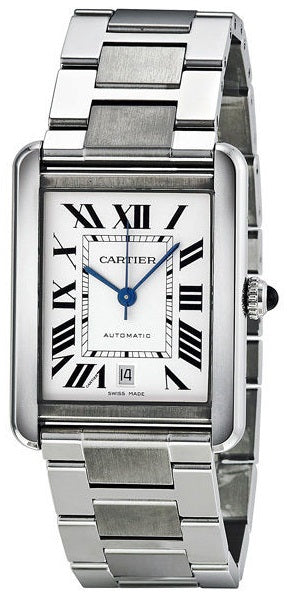 Cartier Tank Solo Automatic Mens Watch W5200028