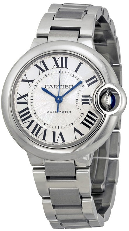 Cartier Ballon Bleu Stainless Steel Automatic Ladies Watch W6920071