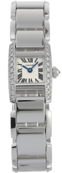 Cartier Tankissime 18K Gold Ladies Watch WE70069H
