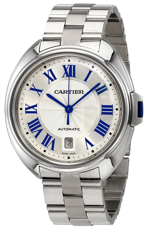 Cartier Cle Automatic Stainless Steel Mens Watch WSCL0007