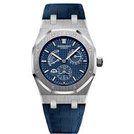 Audemars Piguet Royal Oak Dual Time with Blue Dial