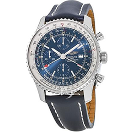 Breitling Navitimer World with Blue Dial