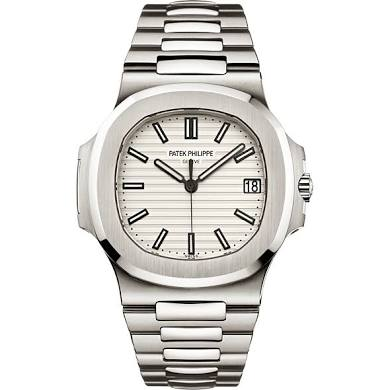 Patek Philippe Nautilus with White Dial