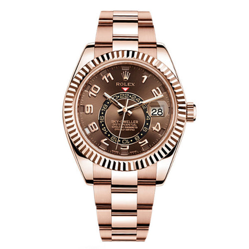 Rolex 326935 Skydweller with Chocolate Dial