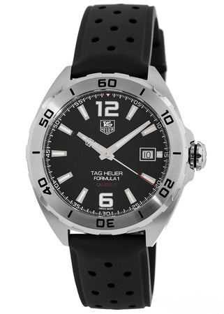 Tag Heuer Formula 1 Rubber Automatic Mens Watch WAZ2113.FT8023