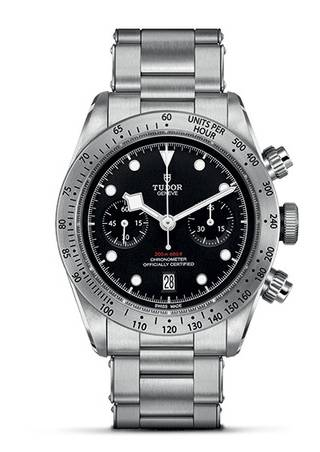Tudor Heritage Black Bay Chronograph on Bracelet (New Model)