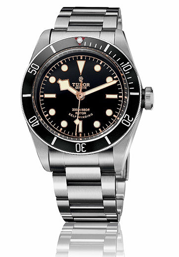 Tudor Heritage Black Bay with Black Bezel