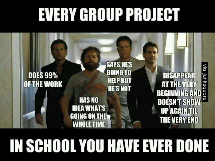 Teacher Meme - Students on Group Projects