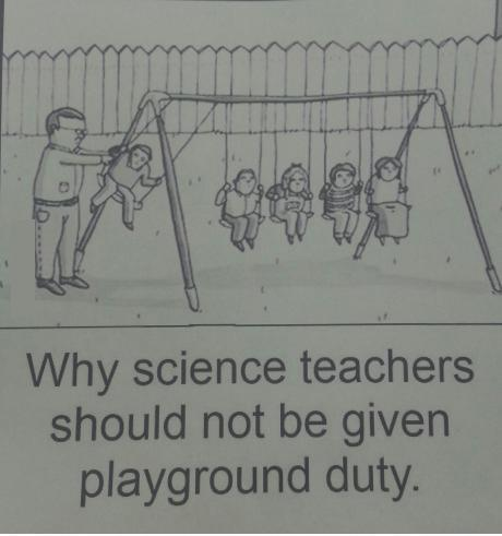 TEACHER MEME - Science Teachers at Recess
