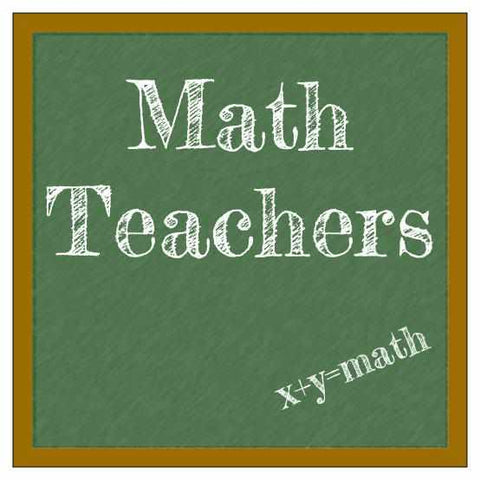 Math Teacher Shirts