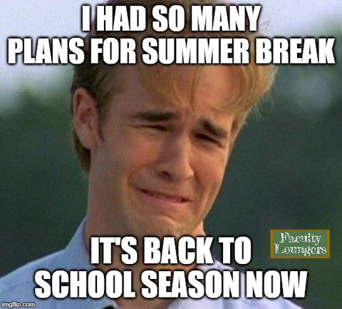 Summer break plans meme for teachers