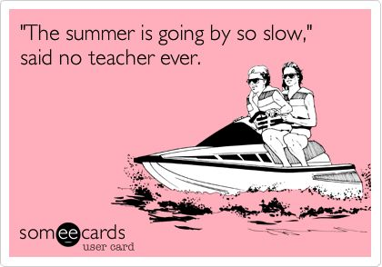 Summer break over too fast meme for teachers