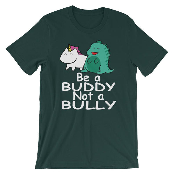 Anti-Bullying Shirt for Teachers with Magical Creatures - Be a Buddy Not a Bully-Faculty Loungers