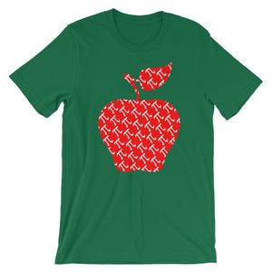 Apple Pi Shirt for Pi Day - Math Teacher Gift Idea-Faculty Loungers