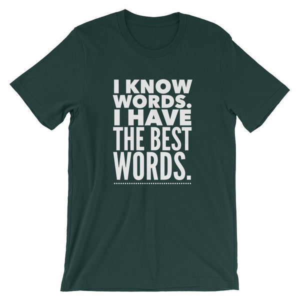 Best Words Shirt | Funny English Teacher Gift Idea-Faculty Loungers