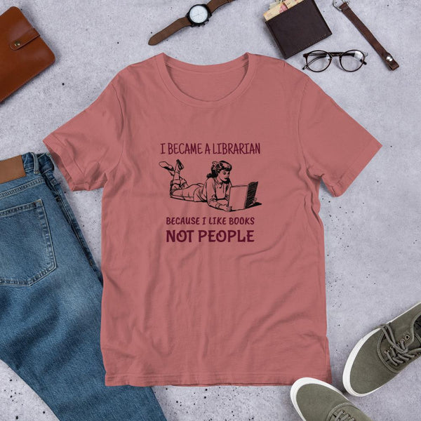 Books > People Librarian Tee Shirt-Faculty Loungers