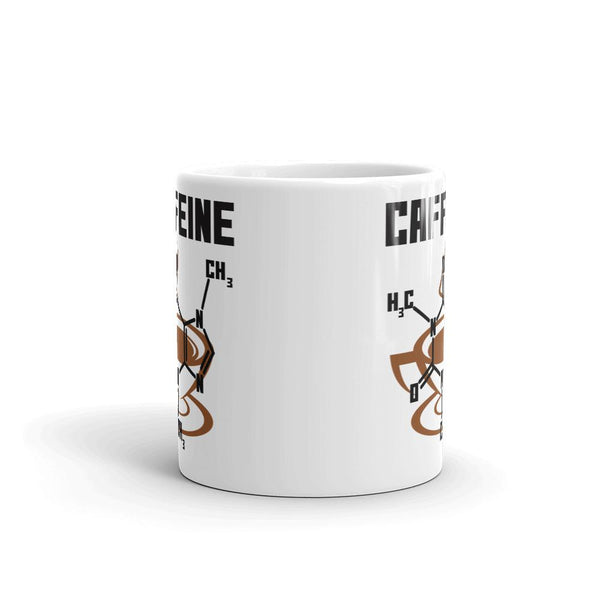 Caffeine Molecule Mug - Gift for Science Teacher-Faculty Loungers