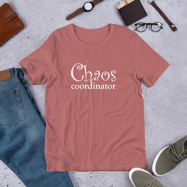 Chaos Coordinator Shirt for Teachers-Tee Shirt-Faculty Loungers Gifts for Teachers