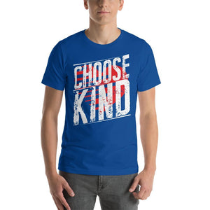 Choose Kind Anti-Bullying Teacher Shirt with a Heart Background-Faculty Loungers
