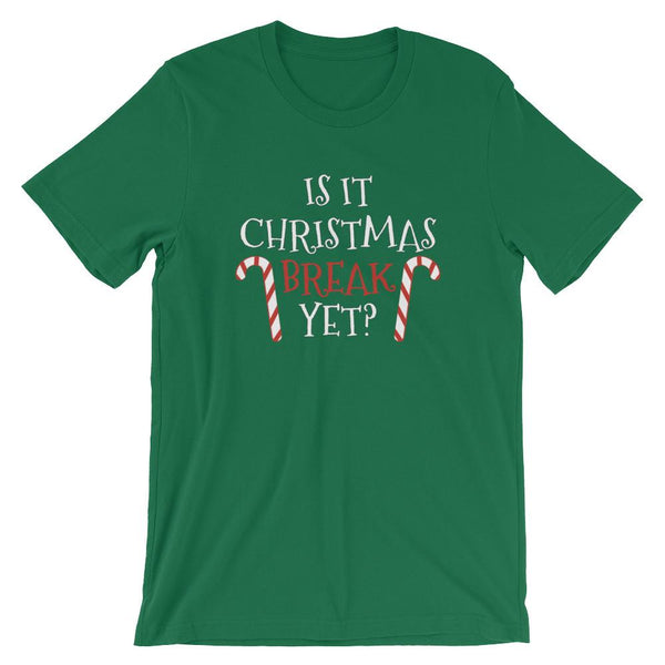 Christmas Break Shirt for Teachers and Students-Faculty Loungers