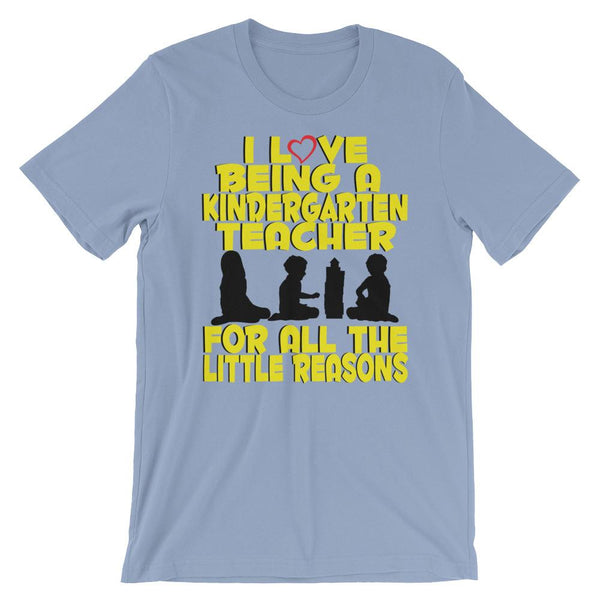 Cute Kindergarten Teacher Shirt - All the Little Reasons-Faculty Loungers