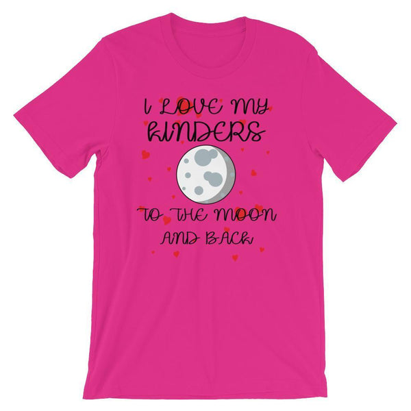 Cute Kindergarten Valentines Shirt, Kindergarten Teacher Gift Idea, I Love My Kinders-Faculty Loungers