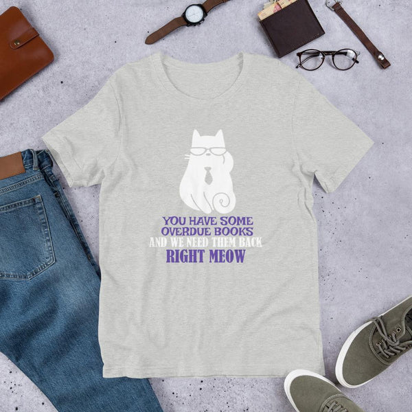 Cute Librarian Tee Shirt (Unisex)-Faculty Loungers