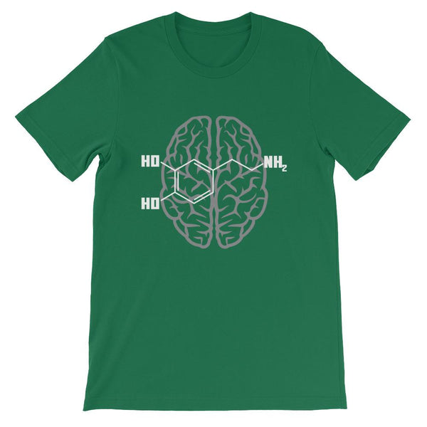 Dopamine Molecule Shirt for Science Geeks-Faculty Loungers