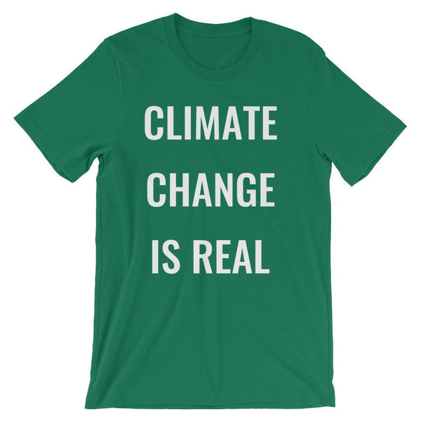 Climate Change is Real T-Shirt-Faculty Loungers