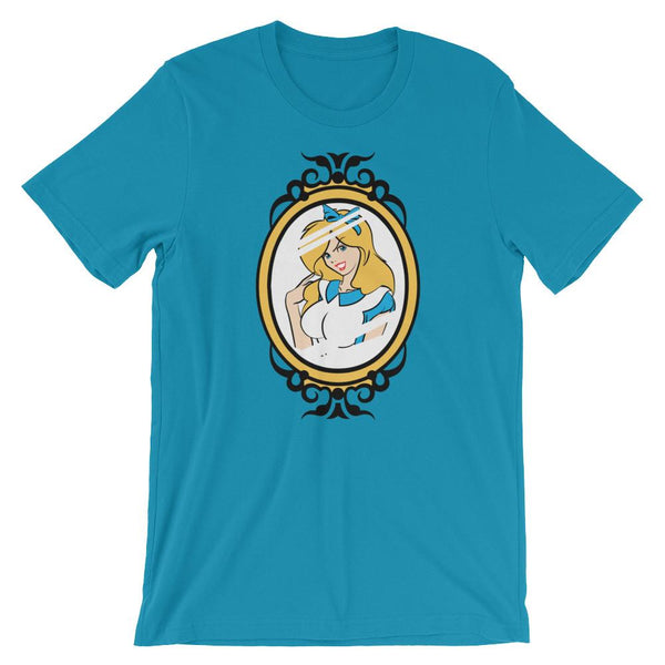 Fierce Alice in Wonderland Shirt-Faculty Loungers