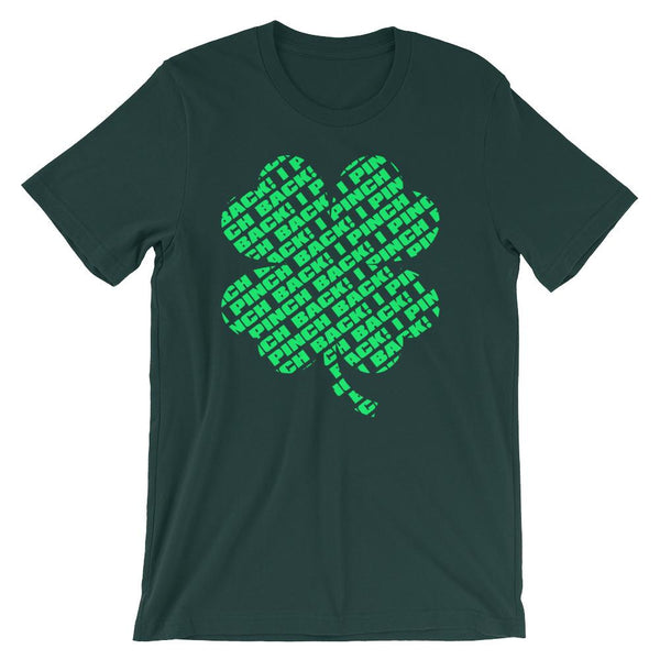 Fun Saint Patricks Day Tee, I Pinch Back, Funny Shirt for St Patricks Day