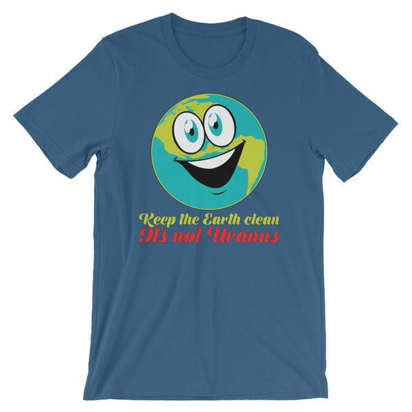 Funny Earth Day Shirt - Not Uranus-Faculty Loungers