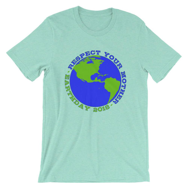 Funny Earth Day Shirt - Respect Your Mother-Faculty Loungers