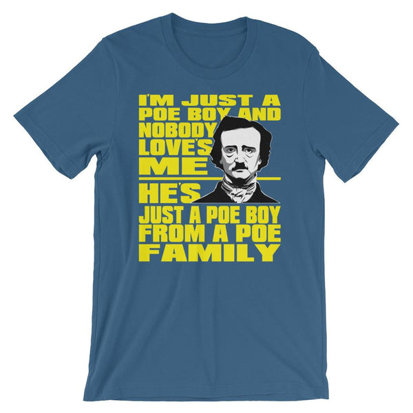 Funny Edgar Allan Poe Shirt-Faculty Loungers