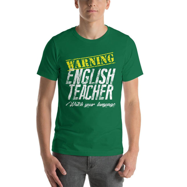 Funny English Teacher Gift - Watch Your Language-Faculty Loungers