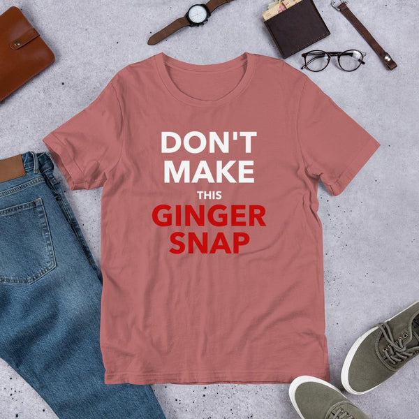 Funny Ginger Shirt for Redhead Teachers on St Patricks Day-Faculty Loungers