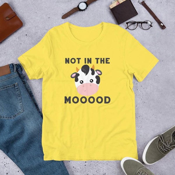 Funny Grumpy Teacher Shirt - Not in the Moood-Faculty Loungers