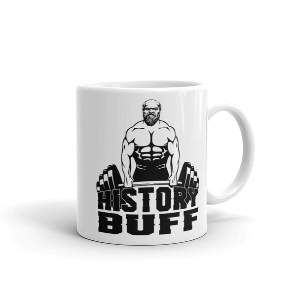 Funny History Buff Coffee Mug - Muscular Socrates-Faculty Loungers