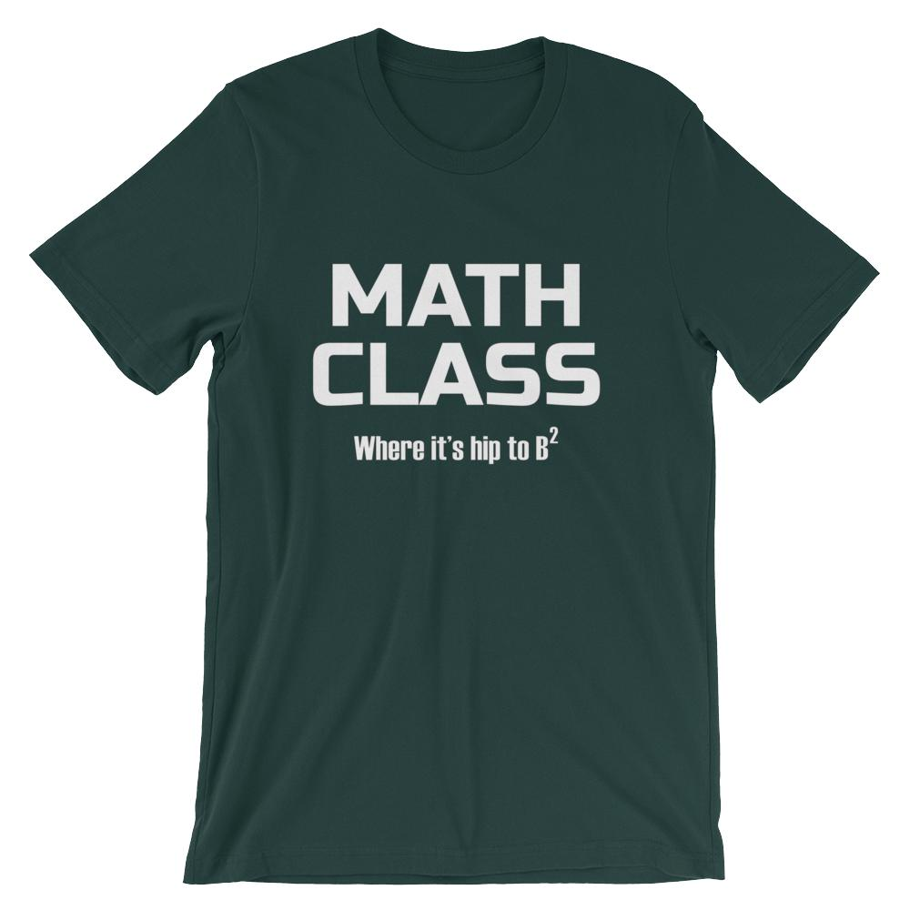 aeb0d148fb Funny Math Pun Shirt for Mathematics Teachers, Hip to B-squared Short- |  Faculty Loungers Gifts for Teachers