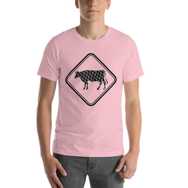 Funny Pi Day T-shirt - Cow Pie-Faculty Loungers