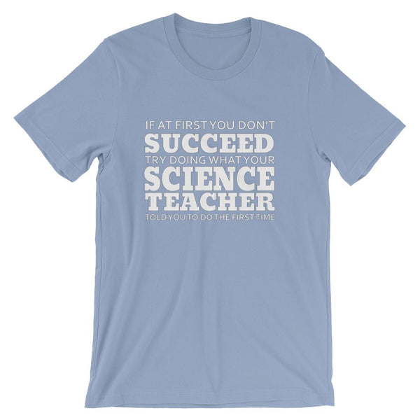 Funny Science Teacher Lesson Short-Sleeve Unisex T-Shirt