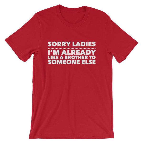 Funny Shirt for Friend Zone, Gag Gift for Friend Zoned Guys, Sorry Ladies