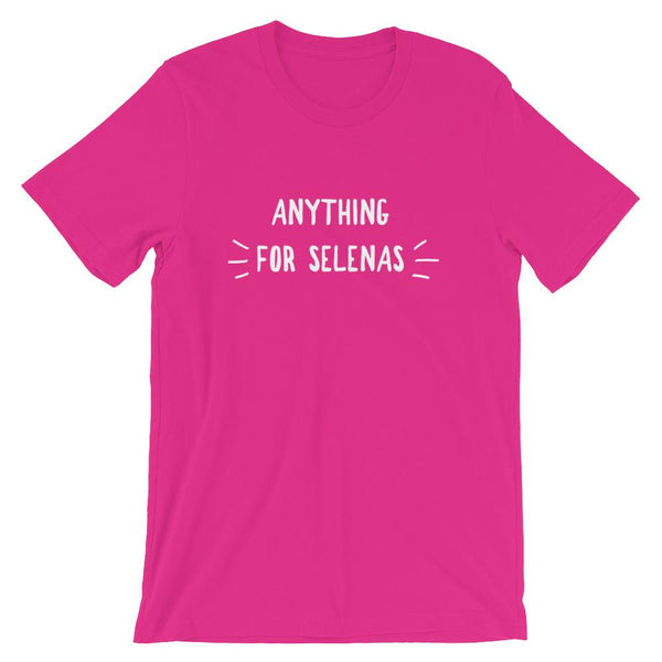 Funny Spanish Teacher Shirt, Anything For Selenas Tee, Selena T-Shirt, Teacher Joke