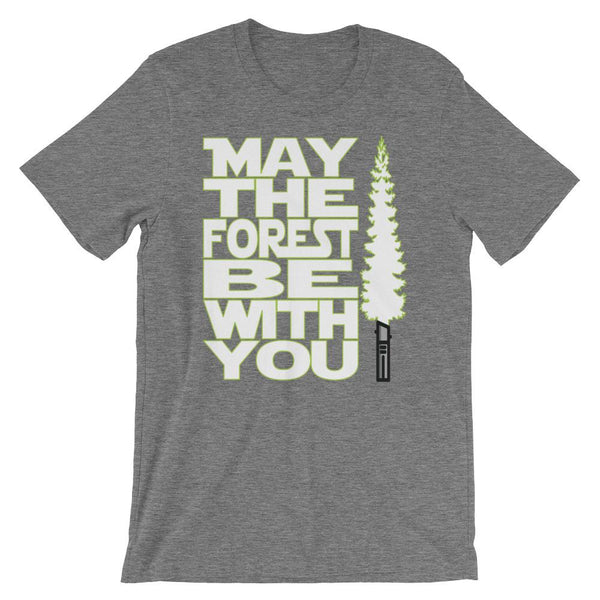 Funny Star Wars Earth Day Shirt - May the Forest Be With You-Faculty Loungers