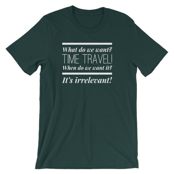 Funny Time Travel T-Shirt Gift for Science Teachers and Physics Nerds-Faculty Loungers