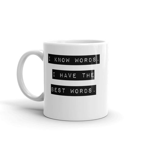 Funny Trump Quote Mug for English Teachers-Faculty Loungers