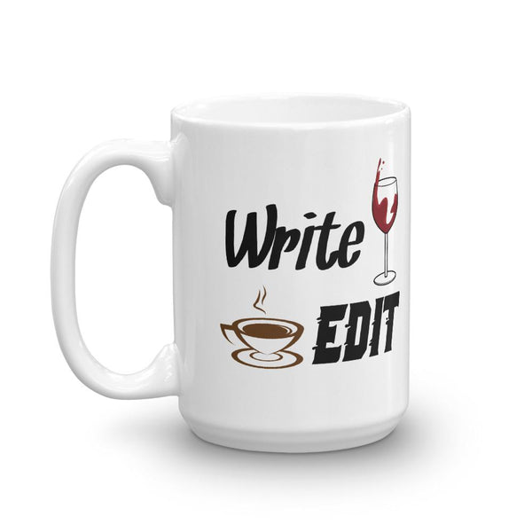 Funny Writer Mug - Tweaked/False Hemingway Quote-Faculty Loungers
